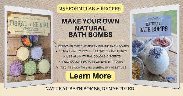 Learn to Make All Natural Bath Bombs & Soaks