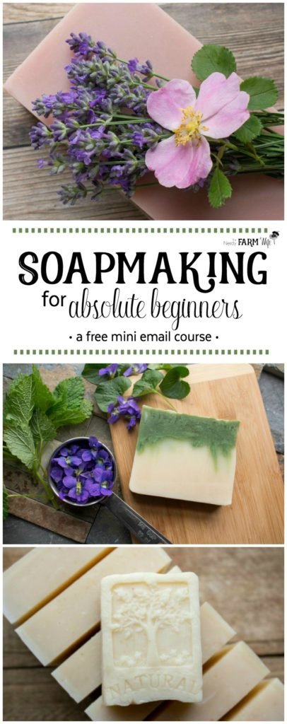 Soapmaking for Absolute Beginners - a free mini email course