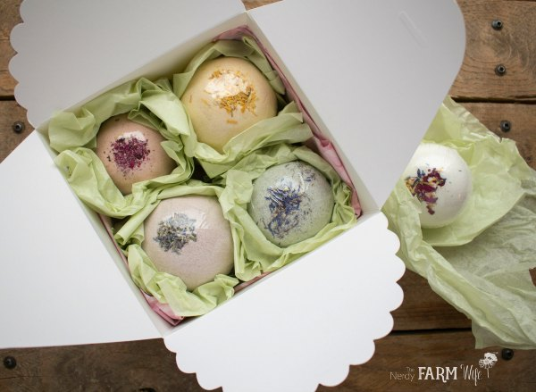 Gift Box of Bath Bombs