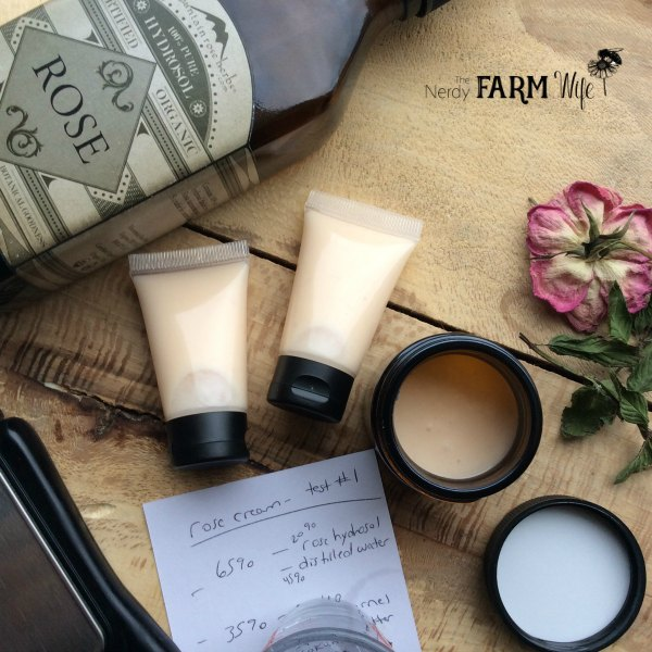 This nourishing rose hand cream recipe absorbs quickly into your skin without leaving a greasy feel and is perfect for those with extra dry skin.