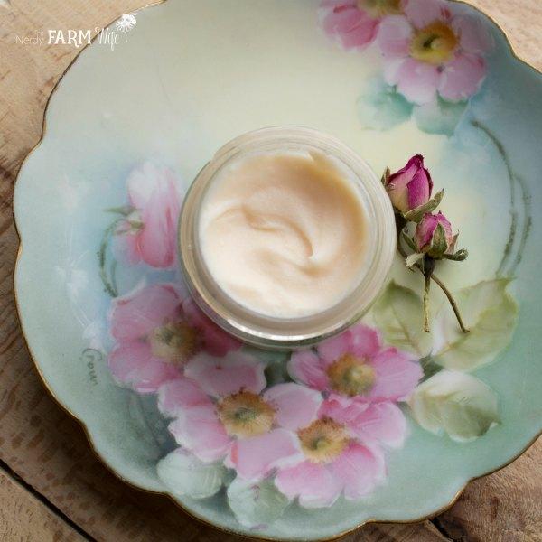 nourishing rose hand cream