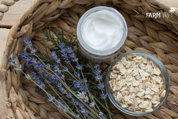 DIY Eczema Cream with Colloidal Oatmeal