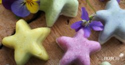 Floral Foot Scrub Bars