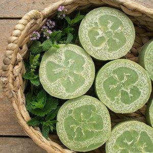 cucumber loofah soaps