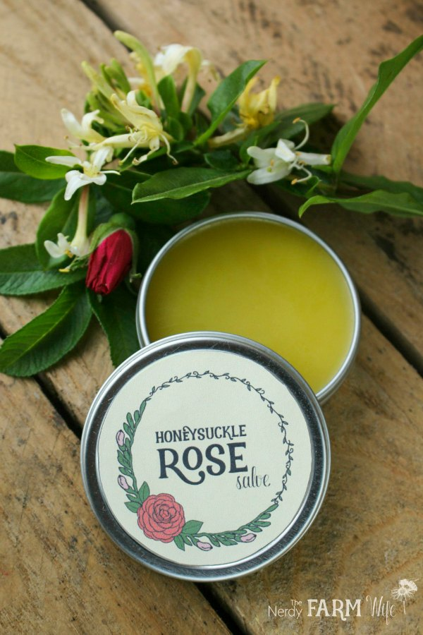 Honeysuckle and Rose Salve Recipe
