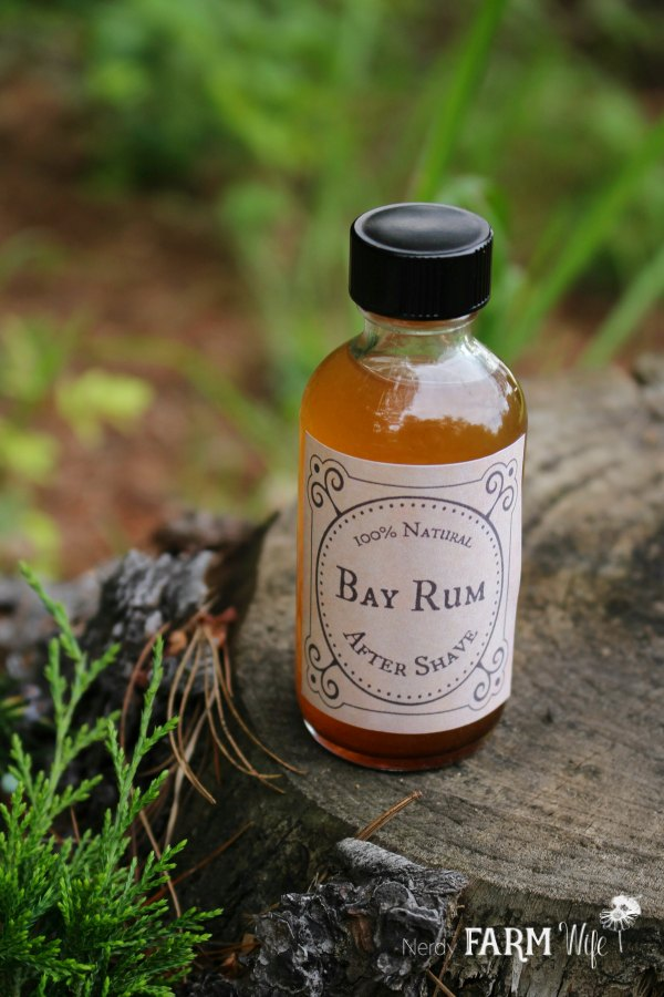 How to Make DIY Men's Homemade Aftershave + 3 Recipes: Bay Rum, Juniper Woods