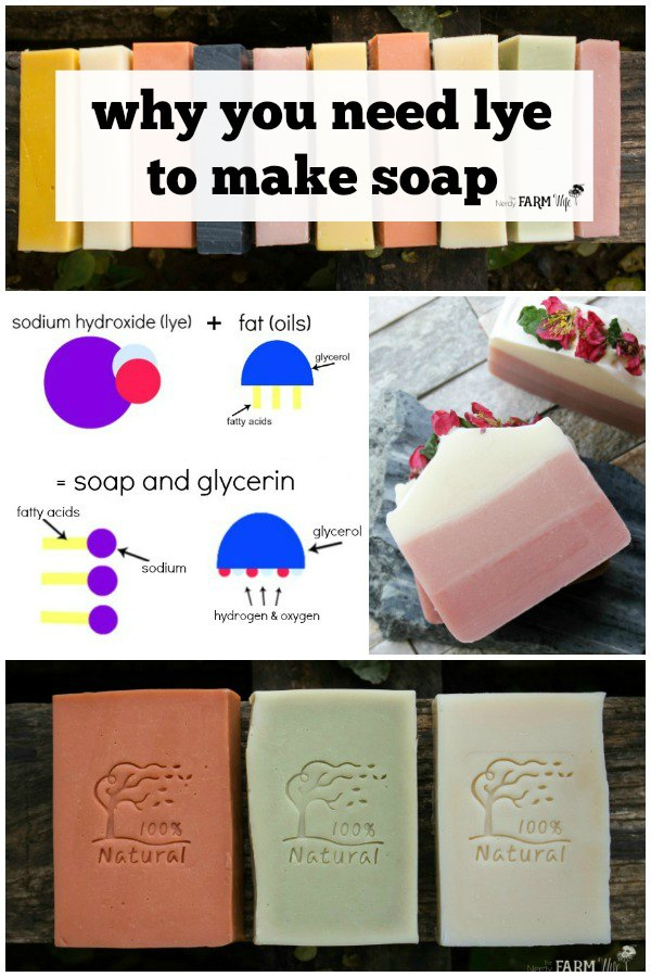 Why do you need lye to make soap? Learn why we use lye (sodium hydroxide) to make soap, plus how to handle it safely in this informative post.