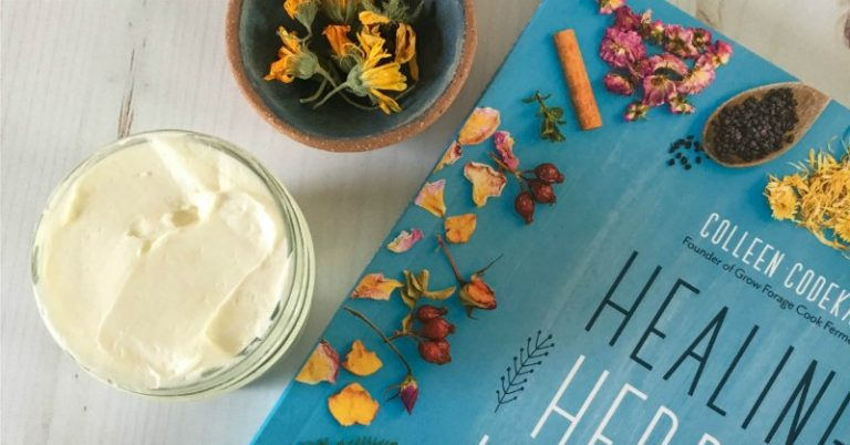 Flower Infused Whipped Body Butter