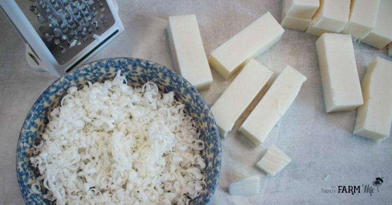 Coconut Laundry Soap & Stain Stick {+ laundry detergent recipe}