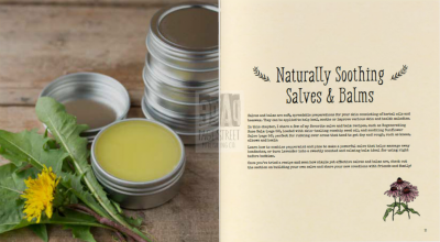 Naturally Soothing Salves and Balms