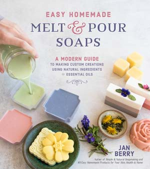 easy homemade melt and pour print book front cover