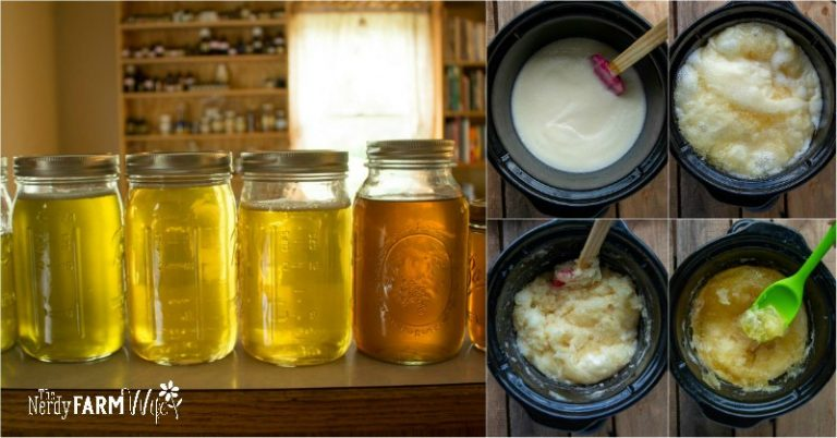 How to Make Herbal Liquid Soap from Scratch {+ recipes}