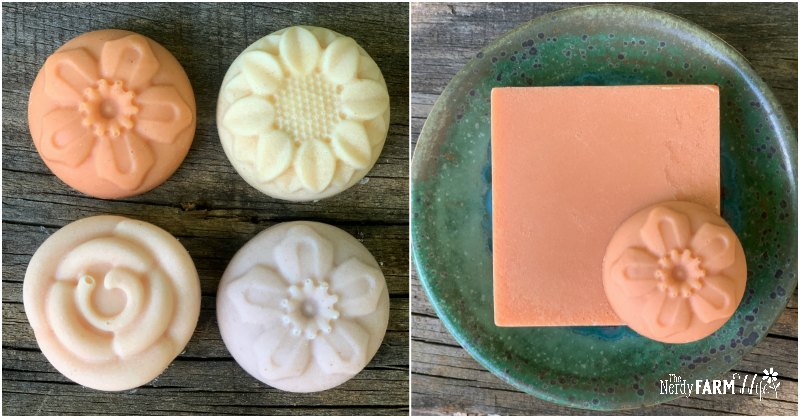 assortment of soaps made with Brazilian clays