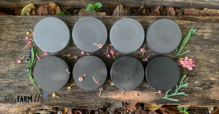 Charcoal in Soap: Usage Rates & Tips