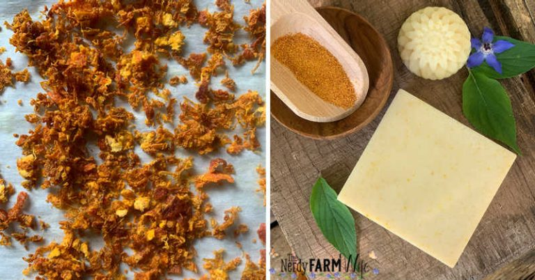 How to Make & Use Orange Peel Powder for Soapmaking