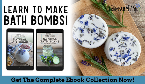 Bath Bombs and Soaks eBook Covers with natural lavender bath bombs