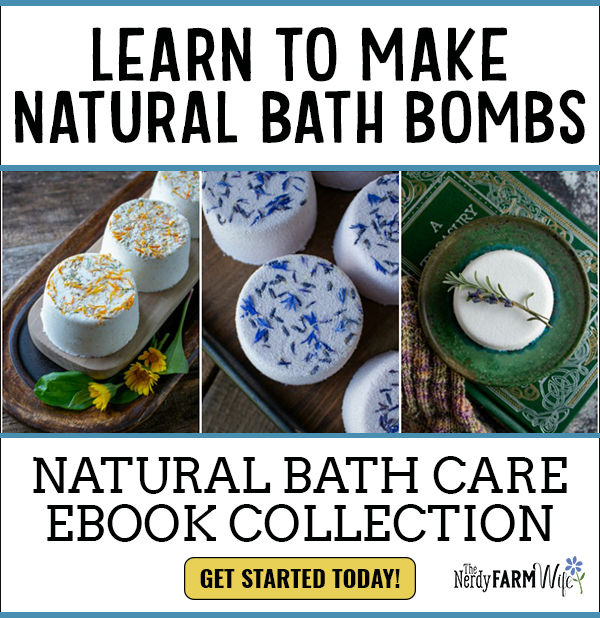 display for the Natural Bath Care eBook Collection