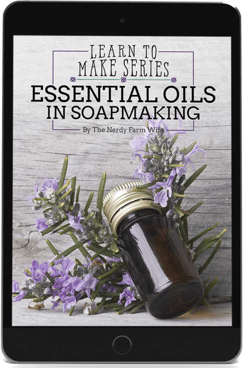 cover for Essential Oils in Soapmaking eBook