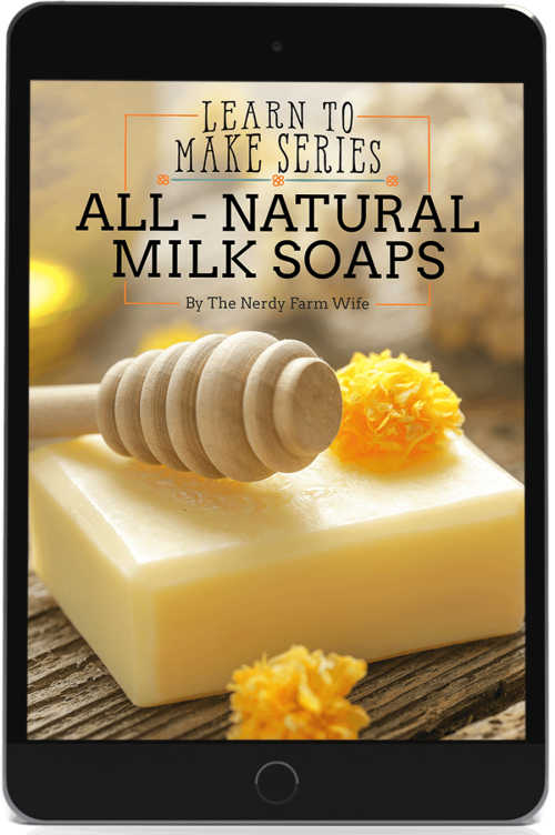 cover for All Natural Milk Soaps eBook