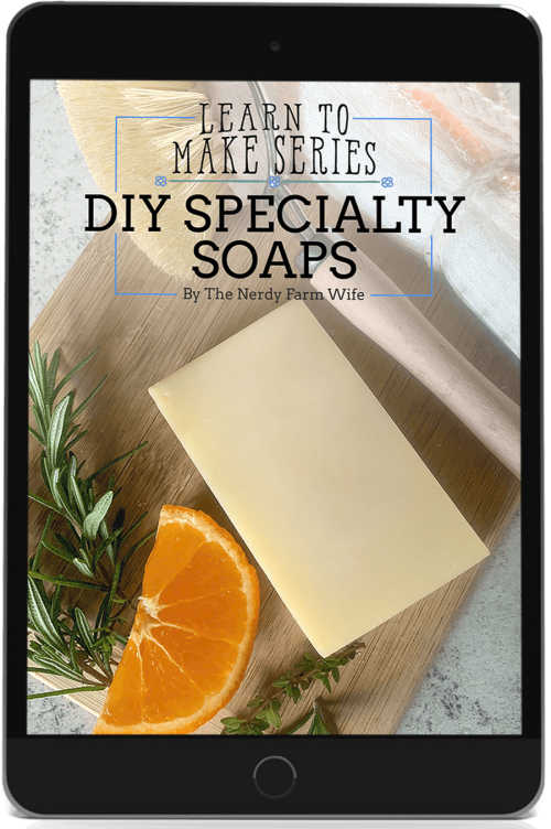 cover for DIY Specialty Soaps eBook