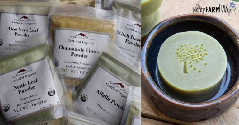 12 Herbal Powders to Use in Soap