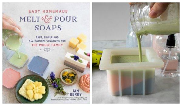 cover of Easy Homemade Melt & Pour Soaps print book