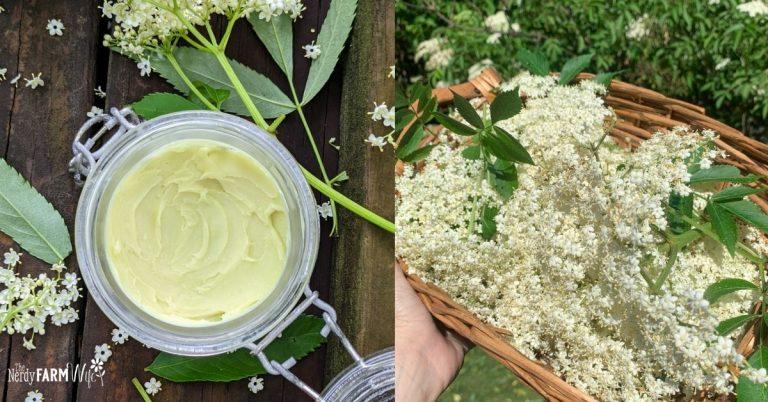Elderflower Magnesium Deodorant