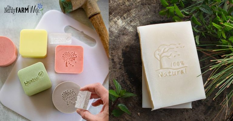 How to Stamp Soap