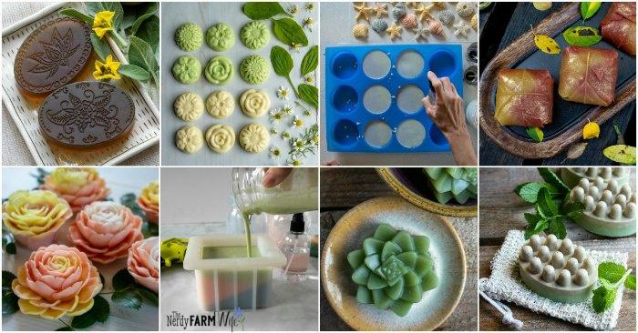 15+ Soap Molds for Melt & Pour Soap